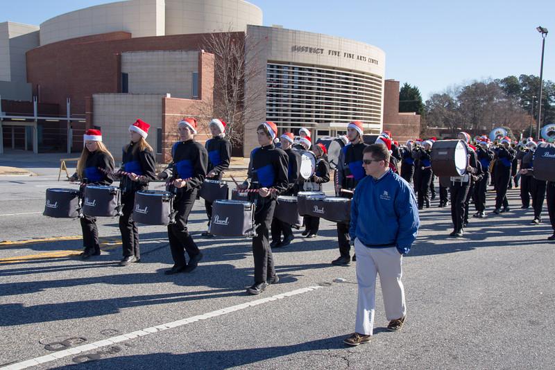 RR at Duncan Christmas Parade-42