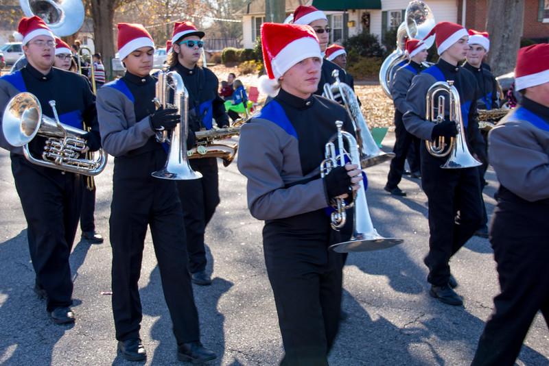 RR at Duncan Christmas Parade-110