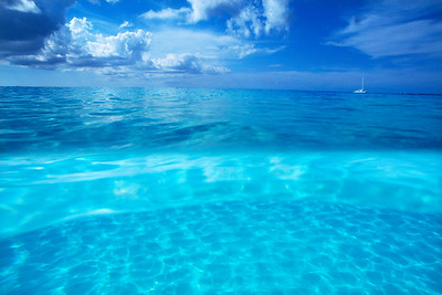 Grand Cayman Horizon above and below water