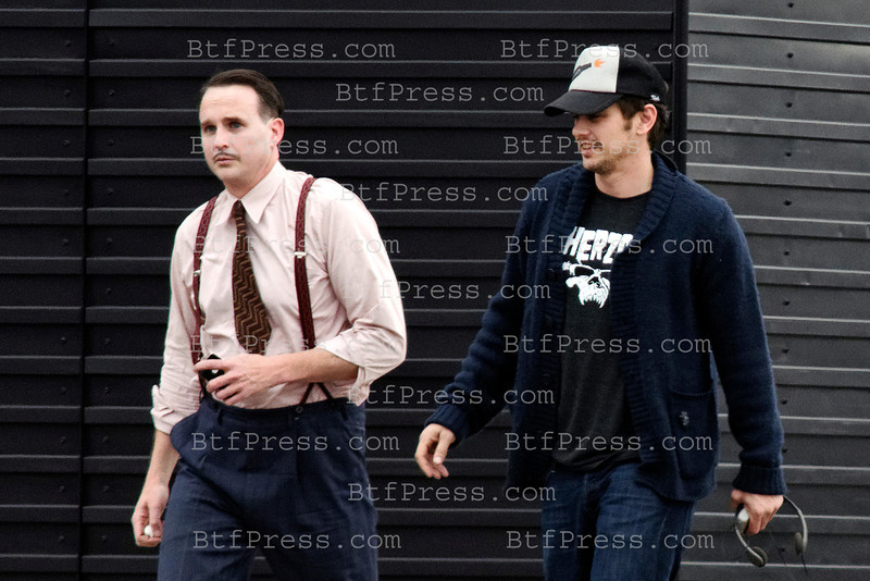"Exclusive__ Director James Franco and cast on the set of   ""Bukowski"" in Los Angeles,California."
