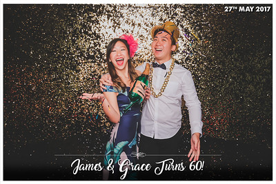 #JAMES&GRACE60TH | © www.SRSLYPhotobooth.sg