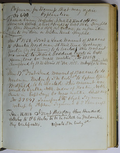 James Cooley Daily Record 1856 01 01 to 08 16 Transaction