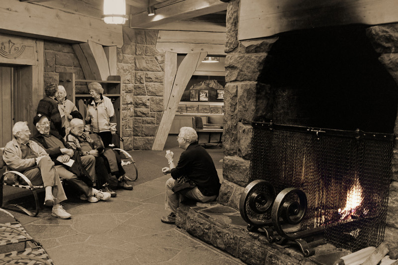 Nothing Better To Do ... Then Have Fun<br /> Timberline Lodge, Mt. hood, Oregon<br /> ------------------<br /> Canon EOS A2E<br /> Canon 35-135mm