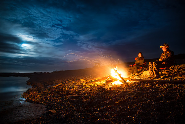Oceanside Campfire