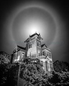 Victorian Moon Halo