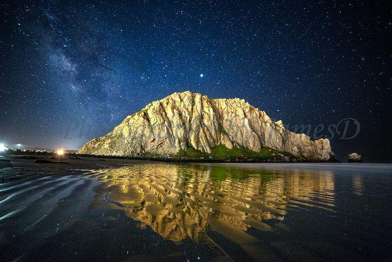 Morro Rock Milky Way