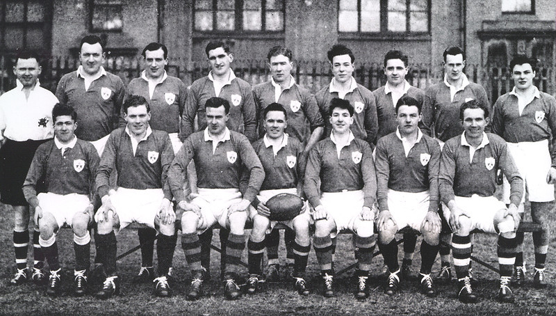 Scotland v Ireland, Murrayfield 23 February 1946