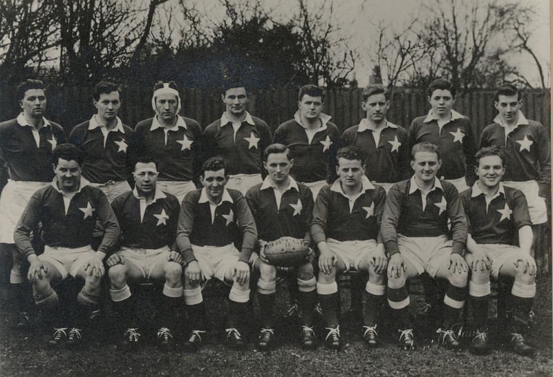 St. Mary s College R.F.C.<br /> <br /> Trophy: n/a<br /> <br /> President: Rev E Farrell PP<br /> <br /> Captain: Matt Gilsenan<br /> <br /> Players: Back Row: A N Other, B Carroll, B Whelan, V Connell, K Wall, M Hoctor, P Dowling, S Cooke Front Row: R Whitty, N Carmody, J Fanagan, M Gilsenan, V Mc Govern, T Donnelly, B Mc Dowell