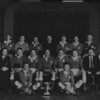 St. Mary s R.F.C.<br /> <br /> Trophy: All Ireland Cup<br /> <br /> Captain: W. P. Gray<br /> <br /> Players: Back Row: C. Ryan, D. O Doherty, G. Ryan, S. Dowling, Rev. W. Kennedy CSSp, A. Hickie, M. Jones, B. McBride, D. Hickie<br /> Middle Row: W.D. Fagan, R.J. Whitty, G. Bowden, W.P. Gray, J. Kilmurray, G. Fanning, J.F. Hughes<br /> Front Row: N. Cooke, B. Cotte