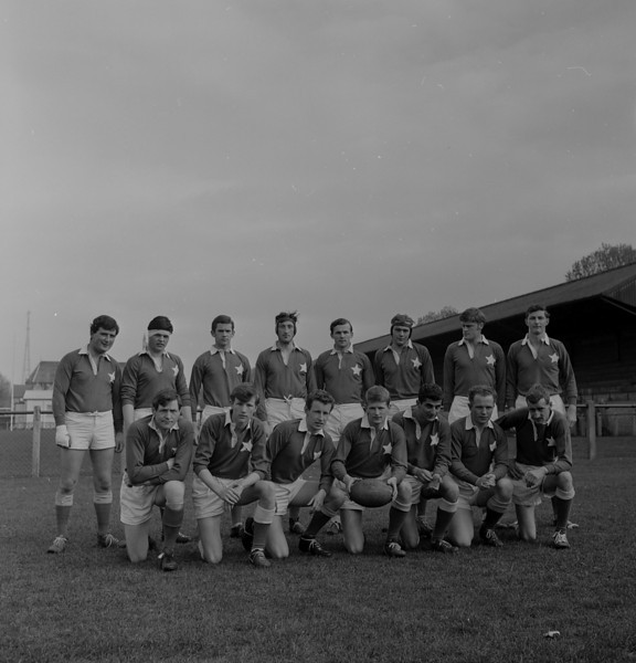St. Mary s College R.F.C.<br /> <br /> Trophy: n/a<br /> <br /> Captain: W Bynre<br /> <br /> Players: Back Row: T Houlihan, D Gilsenan, M Heffron, P Kearney, G Moloney, D Power, J Norton, N Woodcock, Front Row: M Lynch, S Finley,R Bailey, W Bynre, G Saab, D Nagle, M Jones.