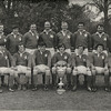St. Mary s College R.F.C.<br /> <br /> Trophy: Leinster Senior Cup<br /> <br /> President: Paddy Bolger<br /> <br /> Captain: John Moloney<br /> <br /> Coach: Vincent Mc Govern<br /> <br /> Players: Back Row: V Mc Govern, K Corrigan, F Dowling, N Kenny, D Hickie, JB Sweeney, D Byrne, R Foley, T Mc Cormick, P Bolger, Front Row: A Andreucetti, A Byrne, E Wigglesworth, J Moloney, F Meehan, P Andreucetti, C Sweeney