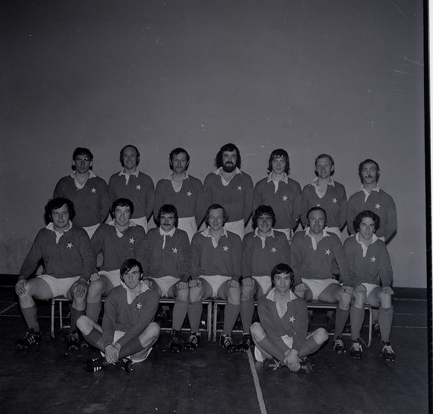 St. Mary s College R.F.C.<br /> <br /> Trophy: n/a<br /> <br /> President: Austin Norton<br /> <br /> Captain: Tony Hickie<br /> <br /> Players: Back Row: G Glendon, T Deering, D Jennings, M Glynn, T Grace, J B Sweeney, K Corrigan Middle: S Lynch, E Wigglesworth, A Andreucetti, T Hickie, P Andreucetti, N Kenny, H Murphy. Front: J Moloney, J Kinahan.