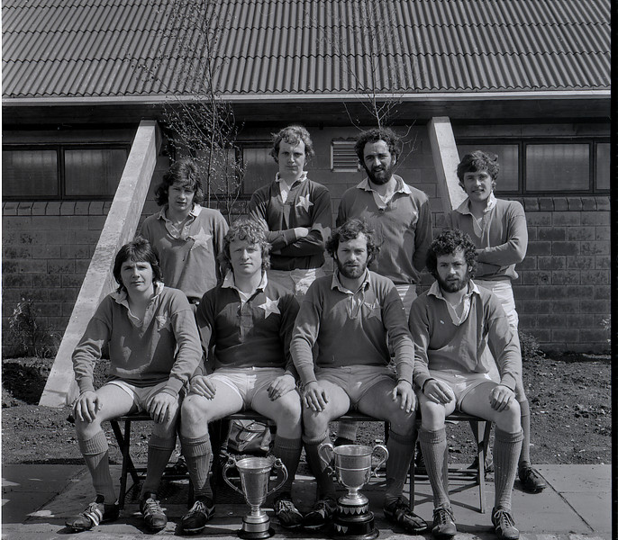 St. Mary s College R.F.C.<br /> <br /> Trophy: n/a<br /> <br /> Players: Back Row: D Howard, D Fanning, D O Brien, P Opperman, Front Row: T Kennedy, R O Connor, D Jennings, B Grimson