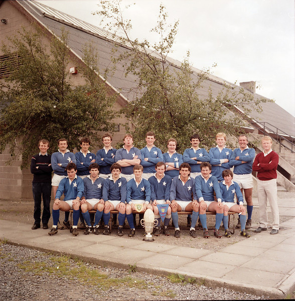 St. Mary s College R.F.C.<br /> <br /> Trophy: Metropolitan Cup (J1)<br /> <br /> President: Ken Sparrow<br /> <br /> Captain: Jim Mc Shane