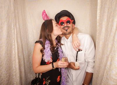 James & Melii's Wedding Photobooth Photos
