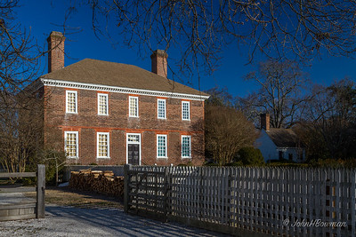 George Wythe House (rear)