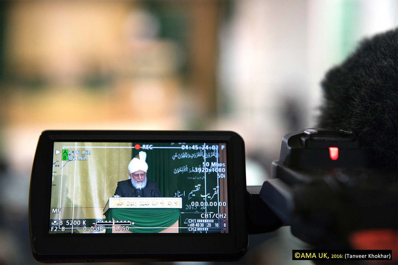 His Holiness said that wherever a Missionary is stationed, he is a representative of Khilafat (Caliphate) and so each Missionary should understand the gravity of this responsibility. He said that the challenges each class would face would be greater than those faced by previous classes as the world was moving further away from God Almighty.