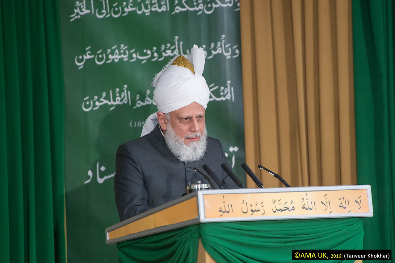 "Hazrat Mirza Masroor Ahmad said: ""True faith and true devotion requires a person to willingly invoke the demise of his personal ego. Certainly, every Missionary of the Ahmadiyya Muslim Community must seek to attain such standards and be willing to sacrifice their own honour for the sake of their faith. They must be willing to bear all forms of hardship because only then will they be in a position to guide and reform others. Only then will they be ready to call others towards the truth."""