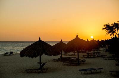 Druif Beach Sunset
