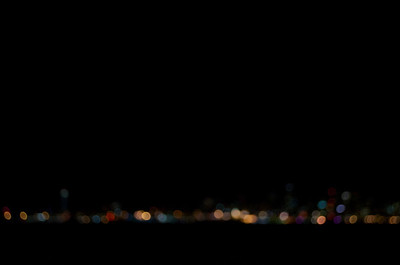 Seattle Skyline in Bokeh
