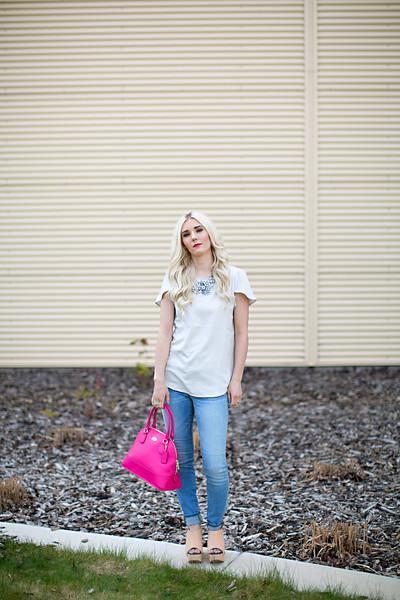 Pinkhot purse
