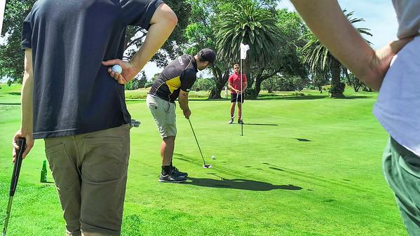 20210101 Brandon Tai - Playoff at New Year golf at Waikanae 17