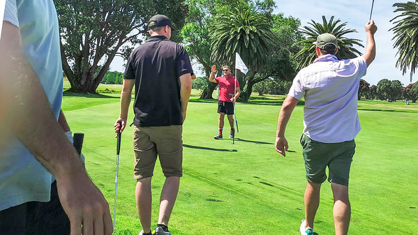 20210101 Brandon Tai winning Playoff at  New Year golf at Waikanae 21