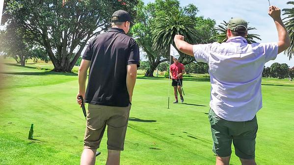 20210101 Brandon Tai winning Playoff at New Year golf at Waikanae 20