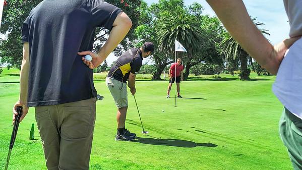 20210101 Brandon Tai - Playoff at New Year golf at Waikanae 18