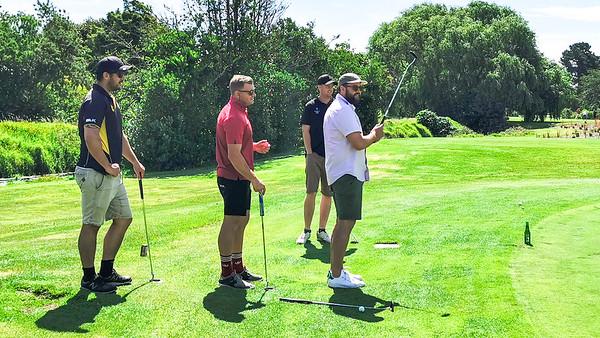 20210101 Cam, Tom, Dave & Matt - New Year golf at Waikanae 14