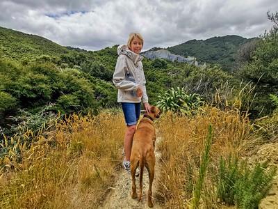 20210130 Janet & Ian at the Pinnicles, Wairarapa -Huawei 4