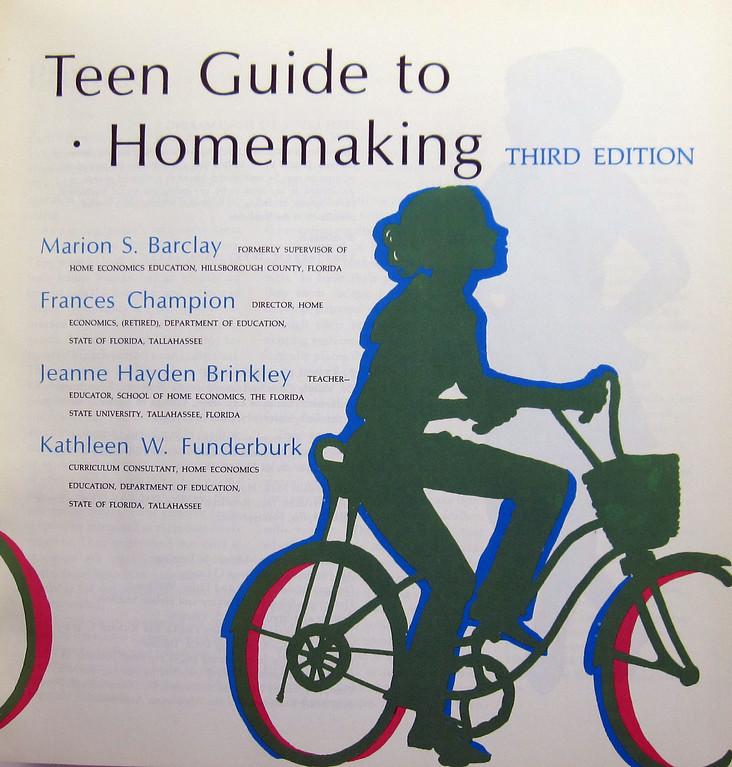 Teen guide to homemaking assured