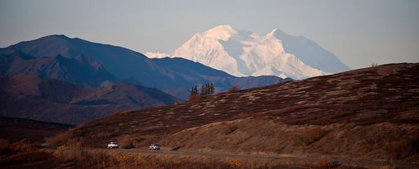 Denali, The Great One, and Park Road, Denali Park, Alaska