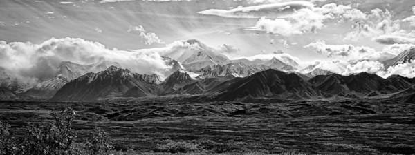 Alaska Range, Denali National Park, Alaska - High Dynamic Range editing (HDR)