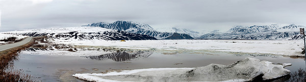 Reflection, Gulkana Glacier, Hoodoo's