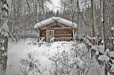 Robert Service Cabin, Dawson City, Yukon Territory, Canada