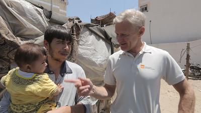 Jan Egeland visits Palestine June 2017