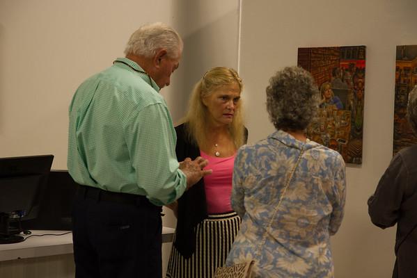 Jane  Strisik's Arts Garage Opening 11/06/15