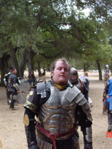 "Nathans ""fighting tunic"" under his armor."
