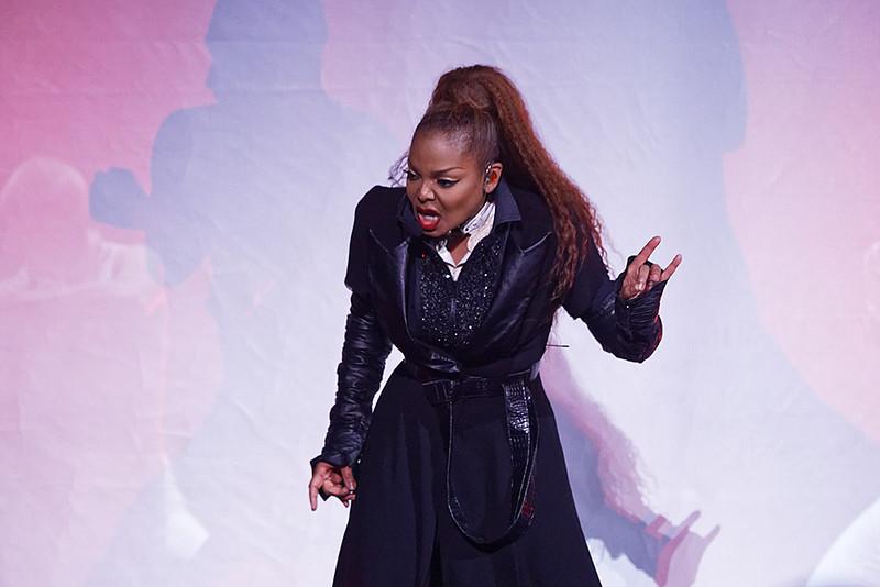 . Janet Jackson live at Little Caesars Arena in Detroit , Michigan on 10-29-2017..  Photo credit: Copyright  Ken Settle