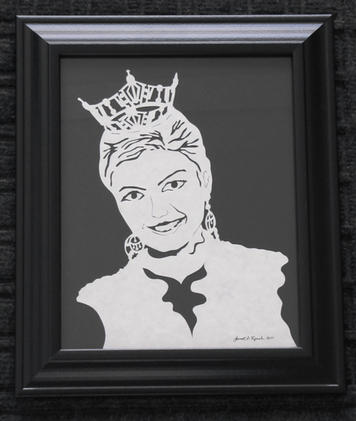 Finished Scherenschnitte Portrait -Hand Cut Parchment  Prices Begin At $99 For One Subject $135 For Multiple Subjects Email your family portrait to Janet Lynch For Pricing : ArtGalleryRiverRd@gmail.com