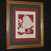 "Title: Framed  Santa With Animals<br /> Size: 16x20<br /> Price: $79 plus tax and Shipping<br /> Buy This Item: <a href=""http://www.etsy.com/listing/86876712/christmas-framed-scherenschnitte-santa"">http://www.etsy.com/listing/86876712/christmas-framed-scherenschnitte-santa</a><br /> JanetLynchArt@gmail.com"