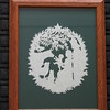 Christmas Framed Paper Cuttings : Unique Gifts