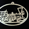"Title: "" Train III "" - Hand Cut Parchment<br /> Price: $10<br /> This item ships free in U.S. and Canada when shipped with an equal or lesser item<br /> <br /> ~ Scherenschnitte (hand paper cutting) Christmas Ornament<br /> Signed and dated by Janet Lynch<br /> <br /> ~ All Christmas ornaments can be personalized with names in Calligraphy<br /> Water Mark will not appear on your art order<br /> <br /> ~Want this as a print on a 5x7 Note Card? <a href=""http://www.etsy.com/listing/71810088/note-cards-5x7-choose-any-photo-or-paper"">http://www.etsy.com/listing/71810088/note-cards-5x7-choose-any-photo-or-paper</a><br /> <br /> ~ Want this as a print on a jewelry pendant? <a href=""http://www.etsy.com/listing/74448914/cape-hatteras-lighthouse-fine-art"">http://www.etsy.com/listing/74448914/cape-hatteras-lighthouse-fine-art</a><br /> <br /> ~ Special Custom requests welcome.....just email me and I will do my best to work with you. If you have a theme or particular interest I am sure I have a design for you......or I will design one just for you.<br /> <br /> ~Visit our shop to see all my hand cut Scherenschnitte Art, Fine Art Photography, Prints, Christmas Ornaments, Bookmarks, Note Cards, Photo Pendants, Jewelry:<br /> <a href=""http://artgalleryriverrd.etsy.com"">http://artgalleryriverrd.etsy.com</a>"