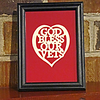 "From our ""Most Popular"" room in our Art Gallery Located in Manakin Sabot, VA<br /> <br /> Title: ""God Bless Our Vets"" - Framed Hand Cut Parchment<br /> Size: 4x6<br /> Difficulty 4 of 10<br /> Price: $15<br /> <br /> Buy This Item: <a href=""http://www.etsy.com/listing/86283623/god-bless-our-vets-scherenschnitte-hand?ref=v1_other_1"">http://www.etsy.com/listing/86283623/god-bless-our-vets-scherenschnitte-hand?ref=v1_other_1</a><br /> <br /> Scherenschnitte (hand paper cutting)<br /> Signed and dated by Janet Lynch framed 4x6<br /> Water Mark will not appear on your art order<br /> <br /> ~Want this as a print on a 5x7 Note Card? <a href=""http://www.etsy.com/listing/71810088/note-cards-5x7-choose-any-photo-or-paper"">http://www.etsy.com/listing/71810088/note-cards-5x7-choose-any-photo-or-paper</a><br /> <br /> ~ Want this as a print on a jewelry pendant? <a href=""http://www.etsy.com/listing/74448914/cape-hatteras-lighthouse-fine-art"">http://www.etsy.com/listing/74448914/cape-hatteras-lighthouse-fine-art</a><br /> <br /> ~ Special Custom requests welcome.....just Contact me and I will do my best to work with you. If you have a theme or particular interest I am sure I have a design for you......or I will design one just for you. Contact : <a href=""http://davelynchphotomemories.wordpress.com/contact/"">http://davelynchphotomemories.wordpress.com/contact/</a>"