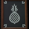 "Title: ""Pineapple"" - Framed Hand Cut Parchment <br /> Size: 8x10<br /> Price:$24 Plus Tax -S&H<br /> Email Your Order: JanetLynchArt@gmail.com"