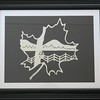 "Title: ""VA Maple Harvest"" - Framed Hand Cut Parchment <br /> Size: 11x14<br /> Price:$49 Plus Tax -S&H<br /> Email Your Order: JanetLynchArt@gmail.com"