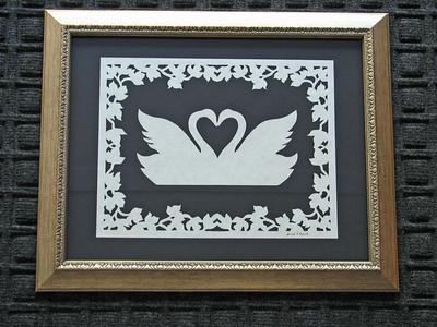 Wedding Anniversary Gifts - Paper Cutting - Scherenschnitte