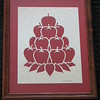 "Title: ""Stacked Apples"" - Framed Hand Cut Parchment <br /> Size: 11x14<br /> Price:$35 Plus Tax -S&H<br /> Email Your Order: JanetLynchArt@gmail.com"