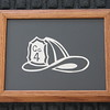 "Title: ""Co 4 Helmet"" - Framed Hand Cut Parchment (Your Company Available)<br /> Size: 8.5x11<br /> Price:$29 Plus Tax -S&H<br /> Email Your Order: JanetLynchArt@gmail.com"